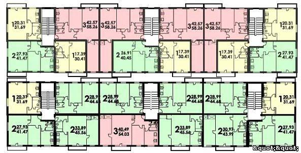 Планировка квартир в «